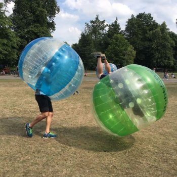 Bubbleball actiefoto