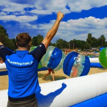 Bubbleball - Bubbelbal - Bubbelvoetbal - Sportproductions